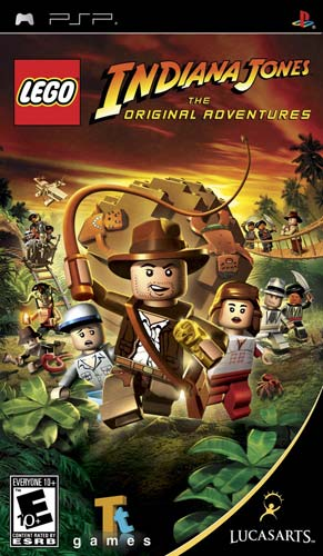 LEGO Indiana Jones The Original Adventures PSP